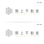 ai-D-mさんの不動産会社の物件サイト「関上不動産」のロゴ作成への提案