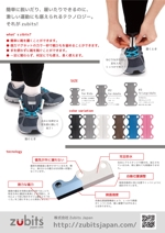 daijukikakuさんの国内未発売商品Zubitsの国内販売開始に向けたB to Cチラシの作成をお願いしますへの提案