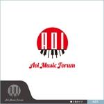 neomasuさんのアオイ楽器店のロゴへの提案