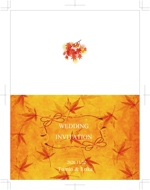 matsuriya_kushiさんの結婚式ペーパーアイテムの新商品デザイン【テーマ:秋】大募集!への提案