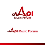 kzdesignさんのアオイ楽器店のロゴへの提案