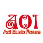 SHADOさんのアオイ楽器店のロゴへの提案