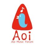 chiezo108さんのアオイ楽器店のロゴへの提案