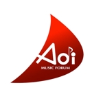 saiga005さんのアオイ楽器店のロゴへの提案