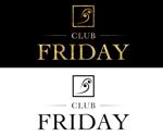 ホストクラブ   club FRIDAYのロゴへの提案