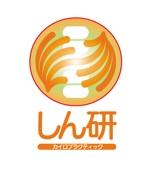 manekiさんの「しん研」のロゴ作成への提案