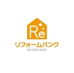 会社名「リフォームバンク株式会社」のロゴへの提案