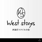 西海岸スタイルの宿「West stays」のロゴへの提案