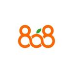 smartdesignさんの青果コーナー「808」(ハチ・ゼロ・ハチ)のロゴへの提案