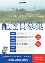 lsmembersさんの西日本新聞配達スタッフ募集チラシのデザイン/当選報酬45,360円 参加報酬ありへの提案