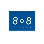 TamBourinさんの青果コーナー「808」(ハチ・ゼロ・ハチ)のロゴへの提案