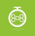 theta1227さんの青果コーナー「808」(ハチ・ゼロ・ハチ)のロゴへの提案