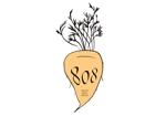 coniferさんの青果コーナー「808」(ハチ・ゼロ・ハチ)のロゴへの提案