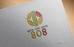 tampopohouse1128さんの青果コーナー「808」(ハチ・ゼロ・ハチ)のロゴへの提案