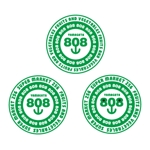 hanasakaG3さんの青果コーナー「808」(ハチ・ゼロ・ハチ)のロゴへの提案