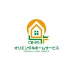 外壁・屋根塗装の「オリエンタルホームサービス」のロゴ制作への提案