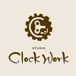 レザー工房 Studio  ClockWorkのロゴへの提案
