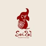 タイマッサージ店「Soi201」のロゴデザインへの提案