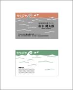 isao-dさんの地方で暮らすフリーランス・ライター「もちのや・山下健太郎」の名刺デザインへの提案