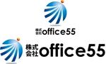 cpo_mnさんの焼肉弁当販売店の法人名「株式会社office55」のロゴへの提案