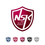 rogomaruさんの警備業の「NSK」ロゴへの提案