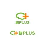Yolozuさんのリハビリ施設 「脳PLUS」という社名のロゴへの提案