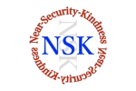 NAOK1さんの警備業の「NSK」ロゴへの提案