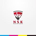 iwwDESIGNさんの警備業の「NSK」ロゴへの提案