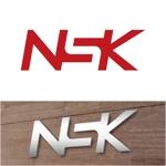 j-designさんの警備業の「NSK」ロゴへの提案