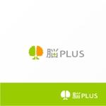 Jellyさんのリハビリ施設 「脳PLUS」という社名のロゴへの提案