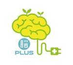 micky-a-55さんのリハビリ施設 「脳PLUS」という社名のロゴへの提案