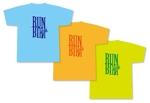 ランニングサークル「RUN RUN TOKYO」のTシャツデザインへの提案