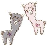 女性向けサイトの動物キャラクター作成(アルパカ)への提案