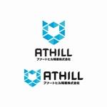 不動産開発事業「アァートヒル殖産株式会社 」のロゴとロゴタイプへの提案