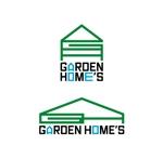 エクステリア工事会社 ガーデンホームズのロゴ 文字含むへの提案
