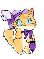 show_kingdomさんのふわふわ長毛の猫の2頭身キャラクターデザインをお願いいたしますへの提案
