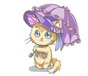 menumenuさんのふわふわ長毛の猫の2頭身キャラクターデザインをお願いいたしますへの提案