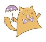 minami-mi-natzさんのふわふわ長毛の猫の2頭身キャラクターデザインをお願いいたしますへの提案