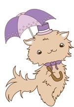 chi-2015さんのふわふわ長毛の猫の2頭身キャラクターデザインをお願いいたしますへの提案
