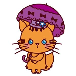 poyonnさんのふわふわ長毛の猫の2頭身キャラクターデザインをお願いいたしますへの提案