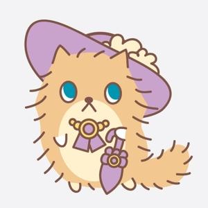 misakicさんのふわふわ長毛の猫の2頭身キャラクターデザインをお願いいたしますへの提案
