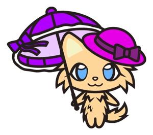 rifranさんのふわふわ長毛の猫の2頭身キャラクターデザインをお願いいたしますへの提案