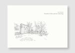 お庭のデザインパース集の表紙作成(表&裏表紙のみ)。への提案