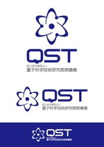 ttsoulさんの「国立研究開発法人 量子科学技術研究開発機構」のロゴマークへの提案