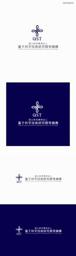 chapterzenさんの「国立研究開発法人 量子科学技術研究開発機構」のロゴマークへの提案