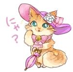 nanaponi777さんのふわふわ長毛の猫の2頭身キャラクターデザインをお願いいたしますへの提案