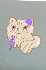 ayaansさんのふわふわ長毛の猫の2頭身キャラクターデザインをお願いいたしますへの提案