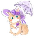 air22s_tubさんのふわふわ長毛の猫の2頭身キャラクターデザインをお願いいたしますへの提案