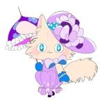 hanamirukoさんのふわふわ長毛の猫の2頭身キャラクターデザインをお願いいたしますへの提案