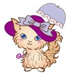 ekilachanさんのふわふわ長毛の猫の2頭身キャラクターデザインをお願いいたしますへの提案